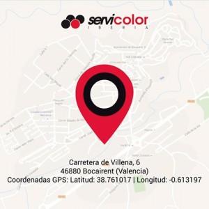 nueva ubicación servicolor